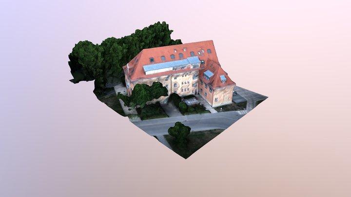 Stadtverwaltung Jena 3D Model