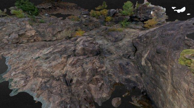 Black Rocks at Presque Isle Park 3D Model