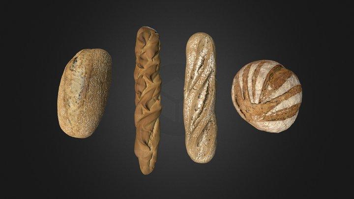 Bread Pack 3D Model