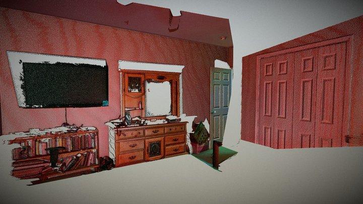 Room - Laser Scanned 3D Model