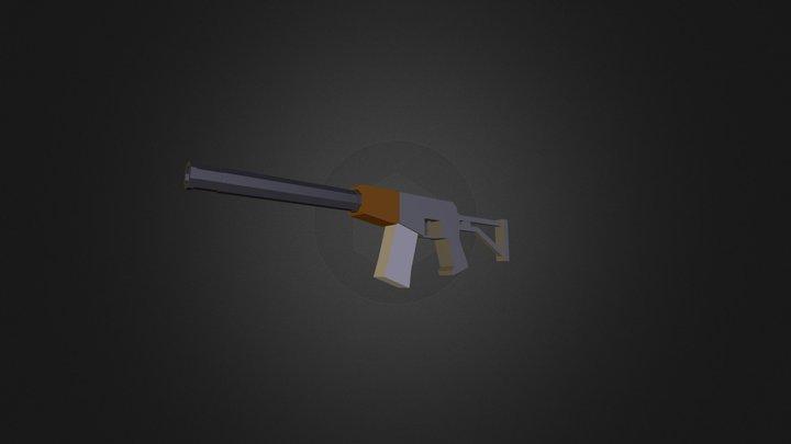 AS Val for Unturned 3D Model