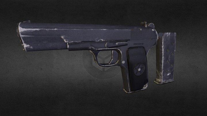 L O W P O L Y T 33 3D Model