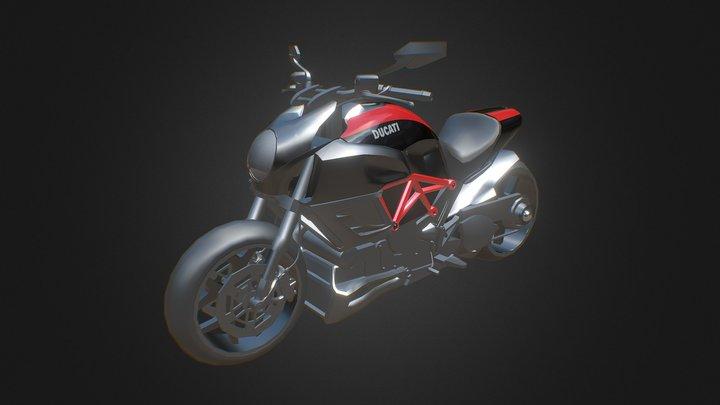 Ducati Bike 3D Model