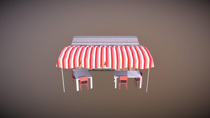 Hot-Dog 3D Model