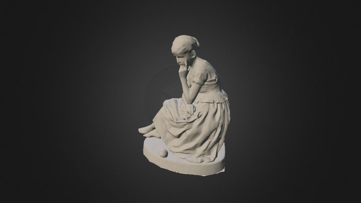Girl-sculpture 3D Model