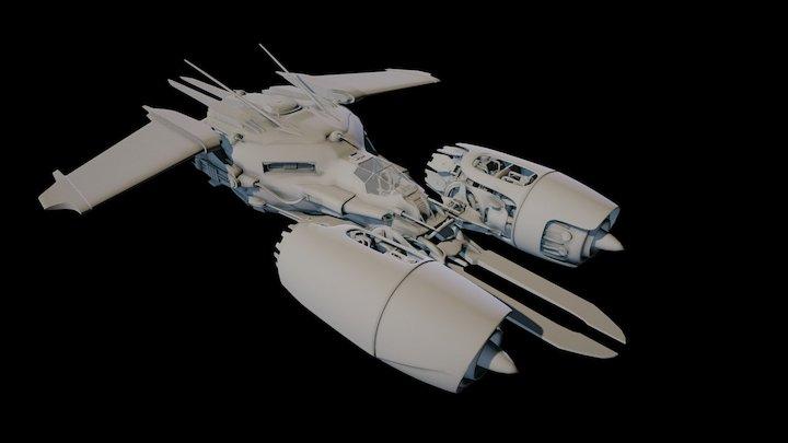 Wraith Complete 3D Model