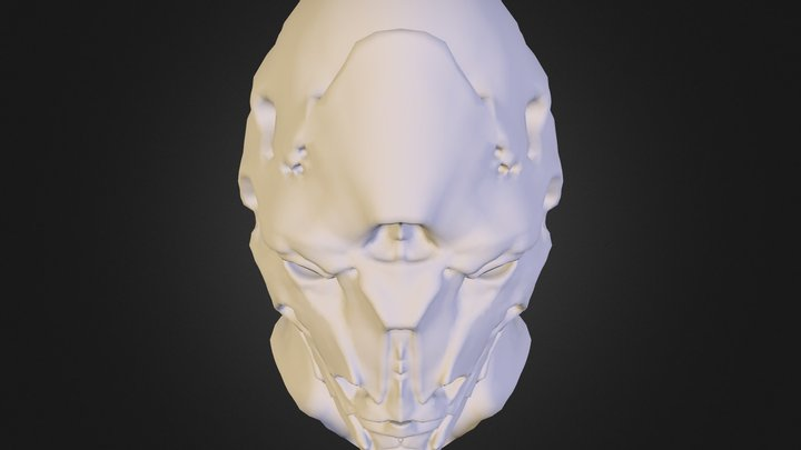 Head Mouth Closed 3D Model