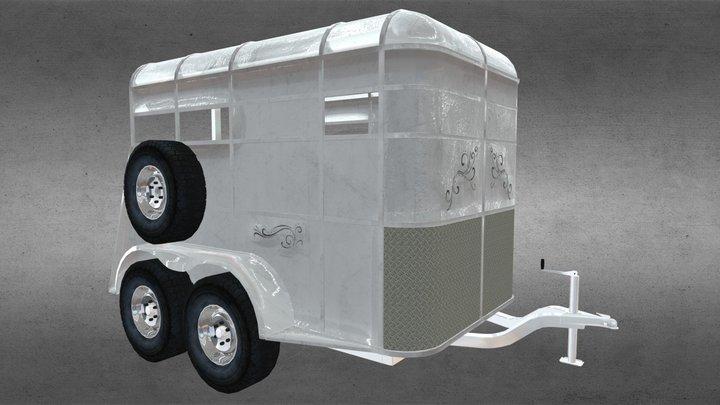 Horse Trailler 3D Model