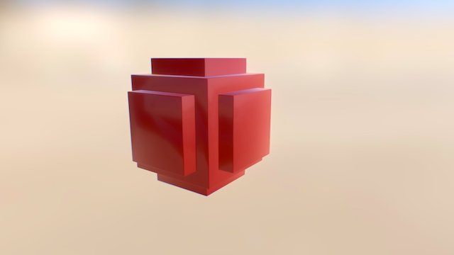 CUBE_TEST_101 3D Model