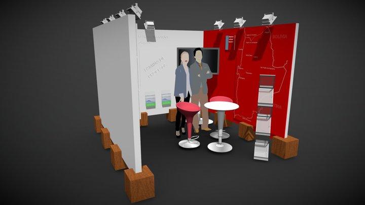 Exponor 2019 Model A 3D Model