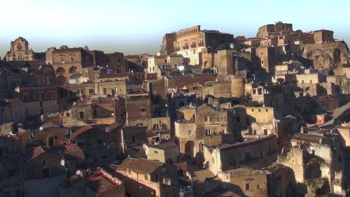 Italy. Matera. 3D Model