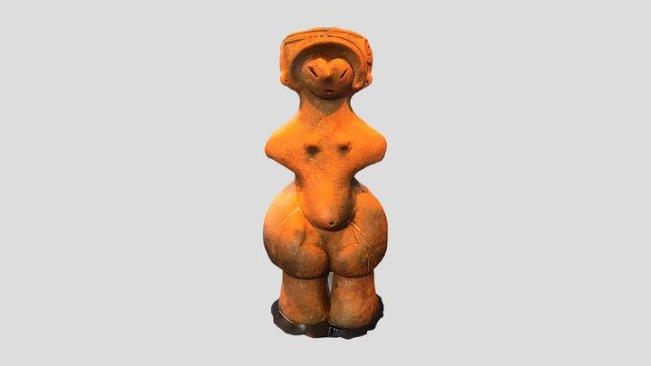 土偶(国宝縄文のビーナス)(茅野市棚畑遺跡) 観察記録3Dモデル 3D Model