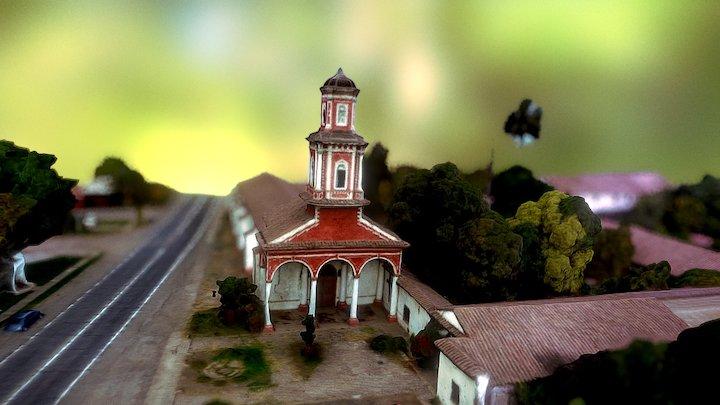 Iglesia De Curimon 3D Model