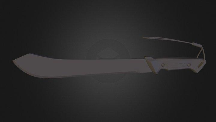 Bolo Machete 3D Model