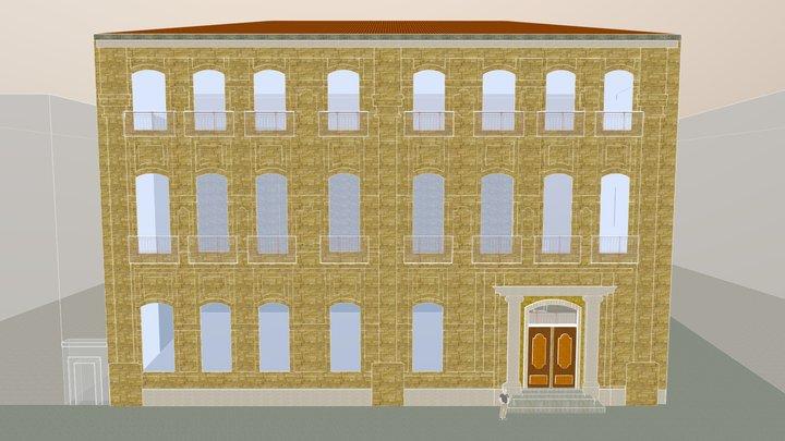 L'hôtel d'Estienne d'Orves d'Aix original 3D Model