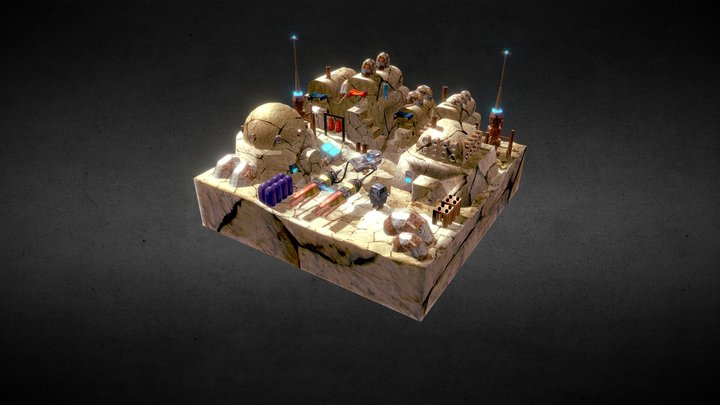 Tatooine 3D Model