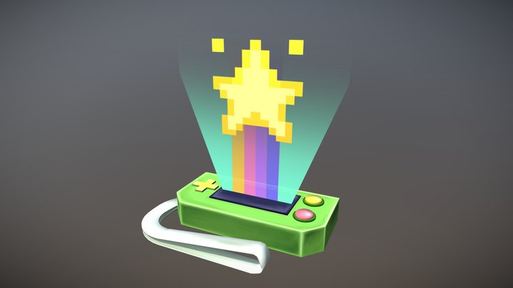 Game On Ward 3D Model