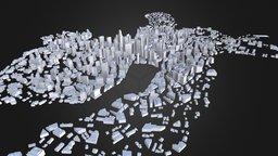City Model 3D Model