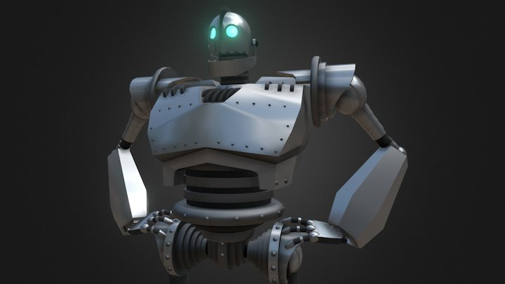 The Iron Giant (ReUpload) 3D Model