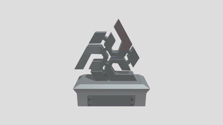 TROFEO COPARMEX 3D Model