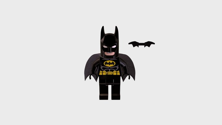 Lego Batman 3D Model