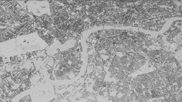 LONDON CITY 3D 3D Model