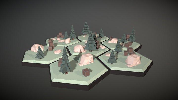 Slots 3D Model
