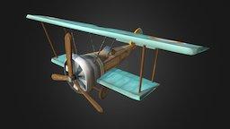 WWI Plane - Sopwith Camel 3D Model