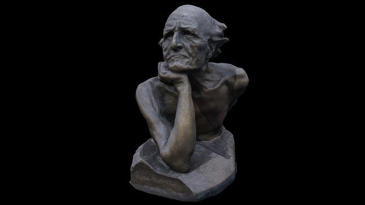 2017-09 - Santiago - Sculpture 6 3D Model