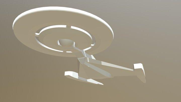 Starship Discovery [Work In Progress] 3D Model