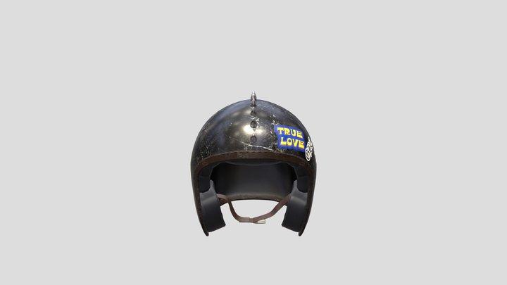 lil peep ruby helmet 3D Model