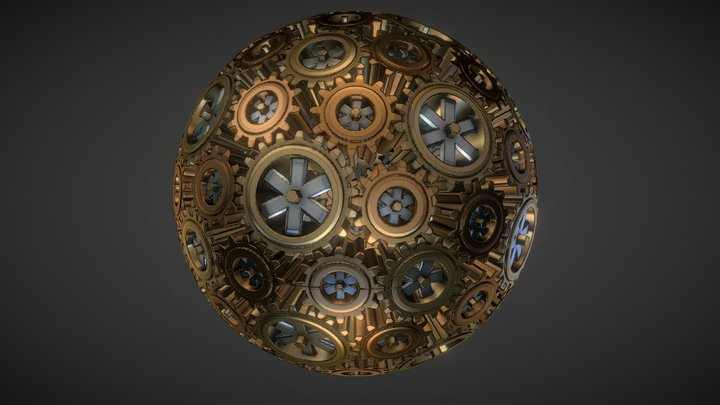 Polyhedral Gears 3D Model