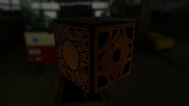 HELLRAISER - Puzzle Box 3D Model