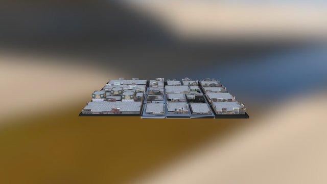 Mi Barrio 3D Model