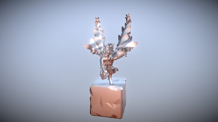 Day 29 of #SculptJanuary19: Harpy 3D Model