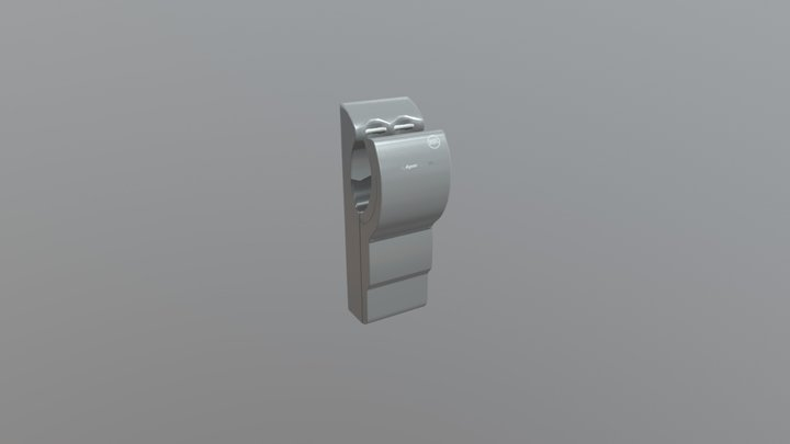 Low Poly Hand Dryer 3D Model