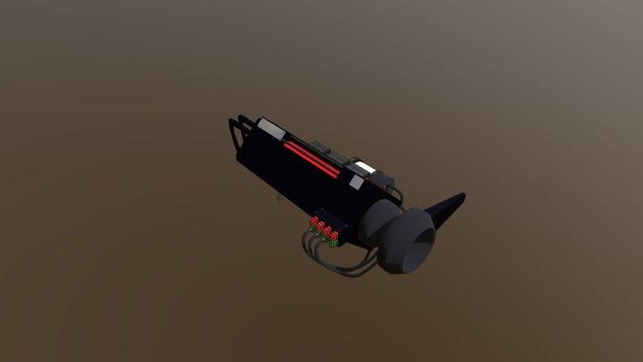 Phase Rifle 3D Model