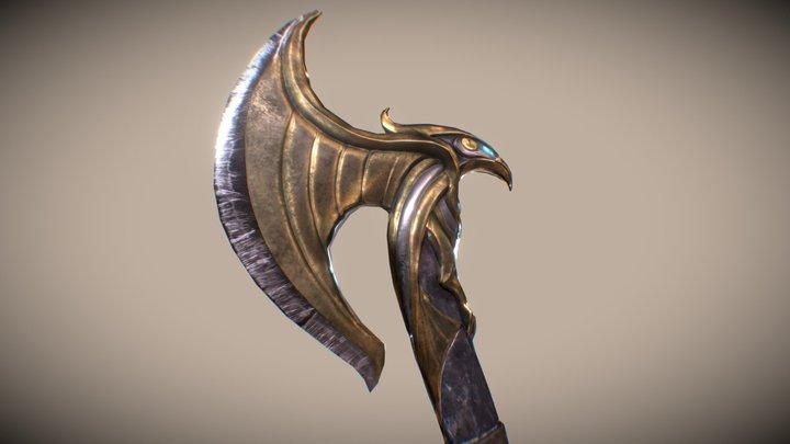 Ayleid Axe for Beyond Skyrim 3D Model