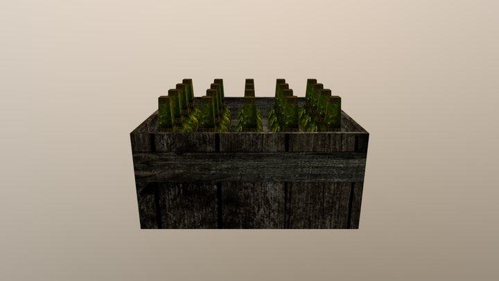 Skrzynie 3D Model