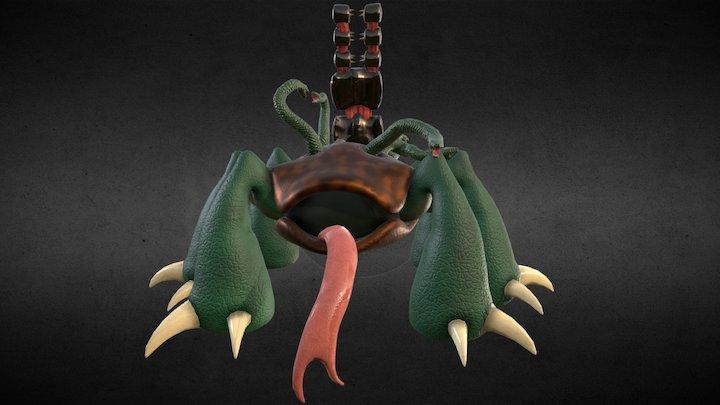 Tortoise Hydra 3D Model