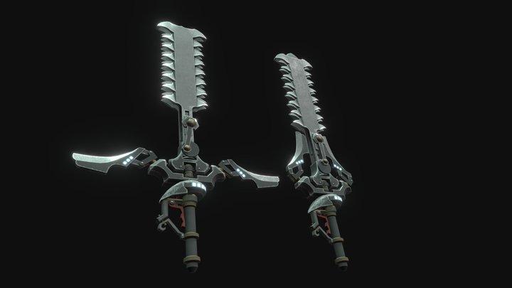 Kurthac's Saw Blade 3D Model