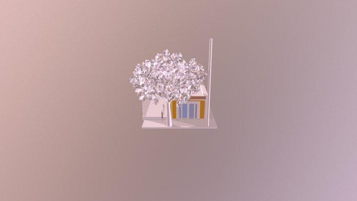 Modelo Remodelación fachada FINAL 3D Model