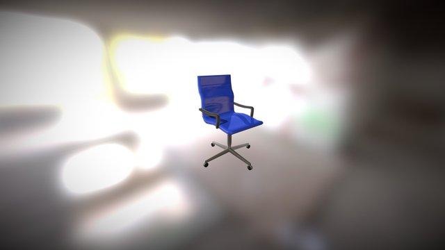 cadeira de escritorio 3D Model