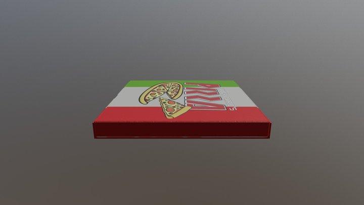 Gaming Pizza Box 3D Model