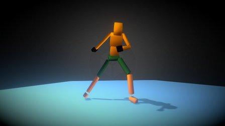 Capoeira Cube 3D Model
