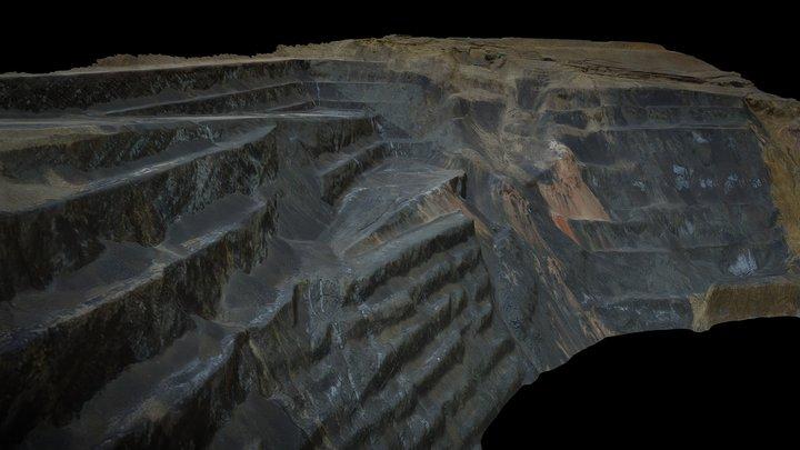 Century Mine, Queensland (Australia) 3D Model