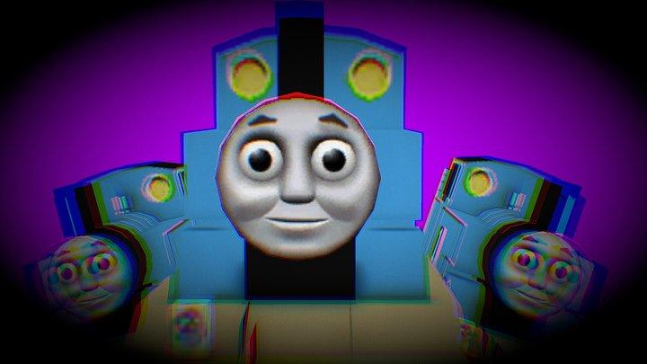 Thomas The Fuck Engine 3D Model