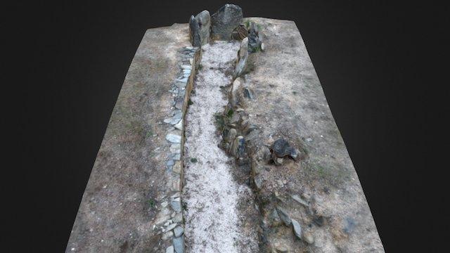 Anta do Cão do Ribeiro 3D Model