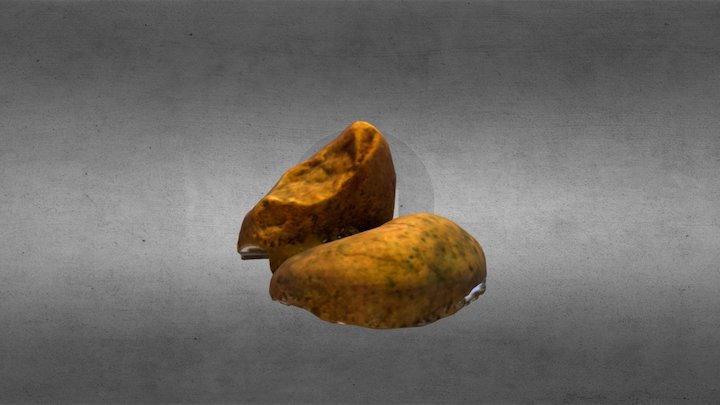 Scan - Two pebbles 3D Model