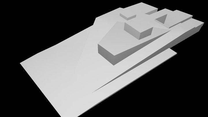 Oslo Opera House - Snohetta 3D Model